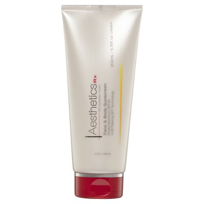 Face and Body Sunscreen SPF50+
